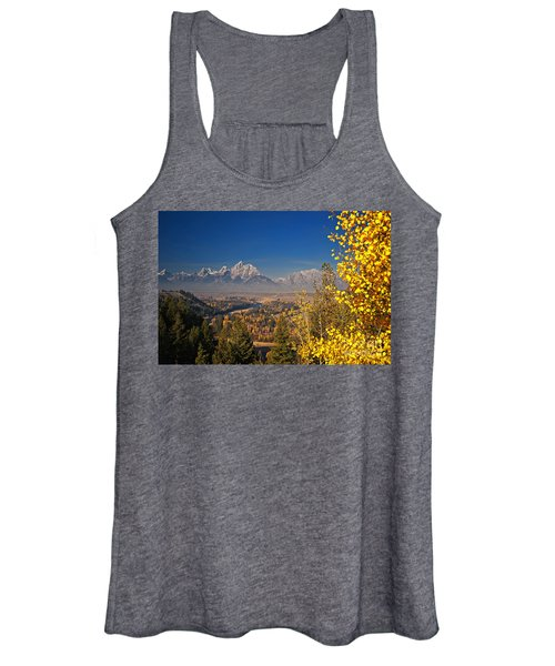 Fall Colors At The Snake River Overlook Women's Tank Top
