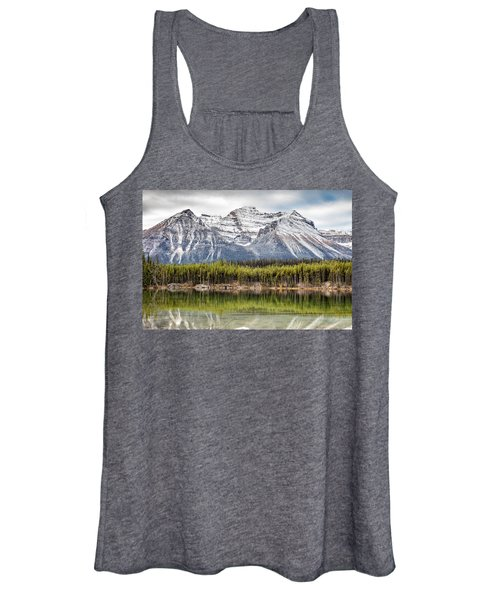 Fall In The Canadian Rockies Women's Tank Top