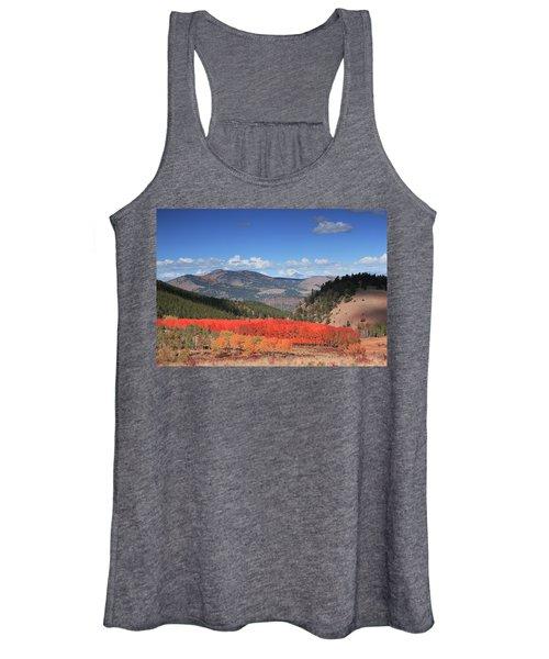 Fall In  Ute Trail  Women's Tank Top