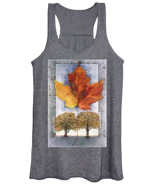 Fall Leaf Women's Tank Top