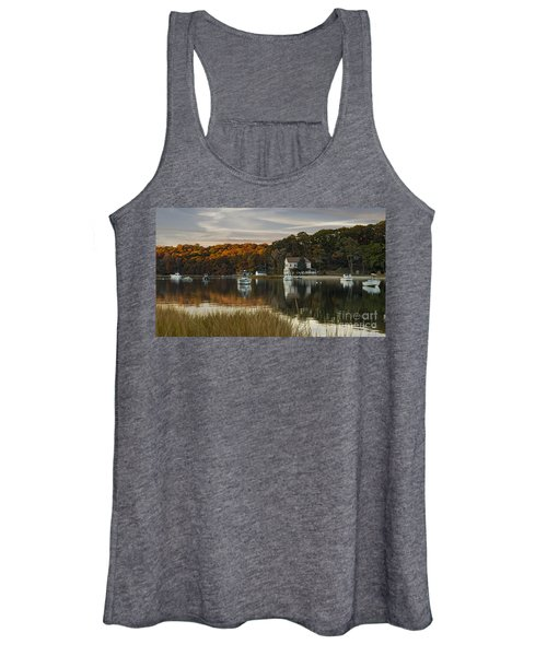 Fall Sunset In Centerport  Women's Tank Top