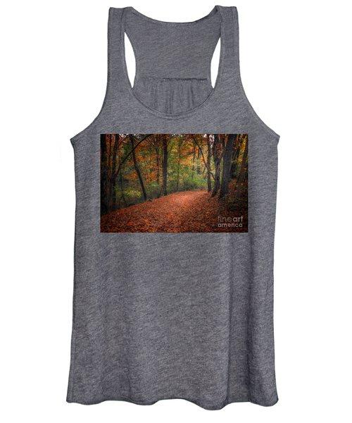 Fall Trail Women's Tank Top
