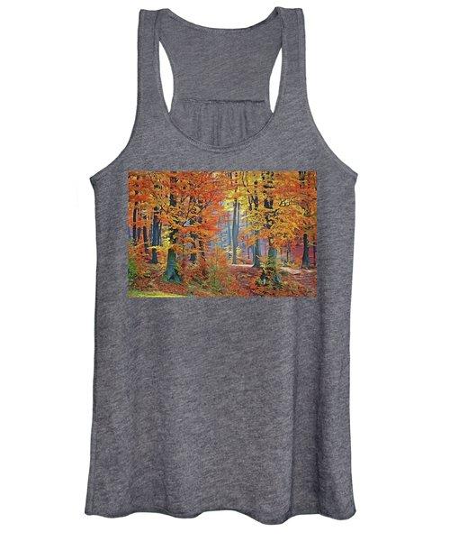 Fall Woods Women's Tank Top