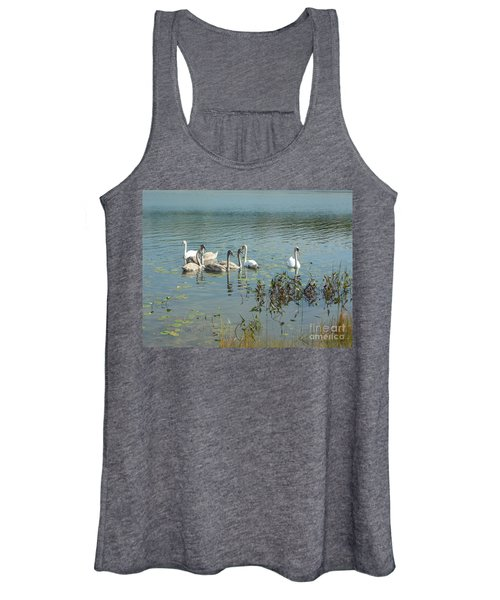 Family Of Swans Women's Tank Top