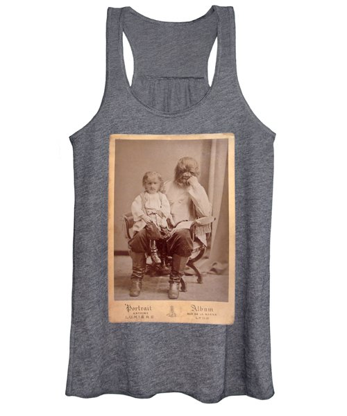 Famous Russian Sideshow Performer Jo-jo The Dog-faced Boy Women's Tank Top