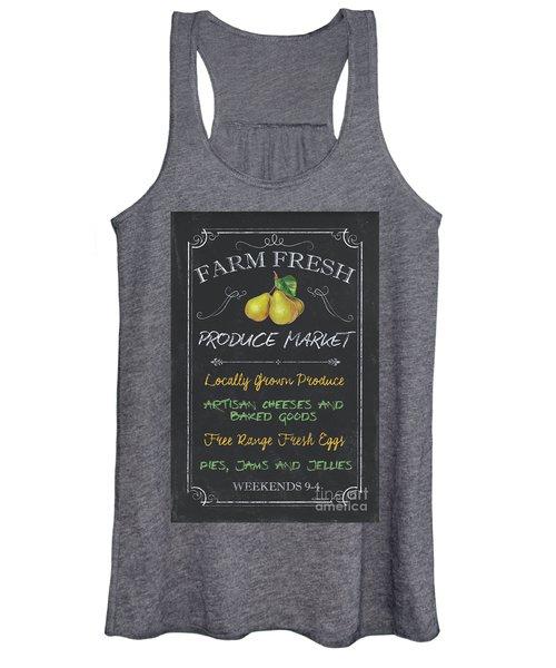 Farm Fresh Produce Women's Tank Top