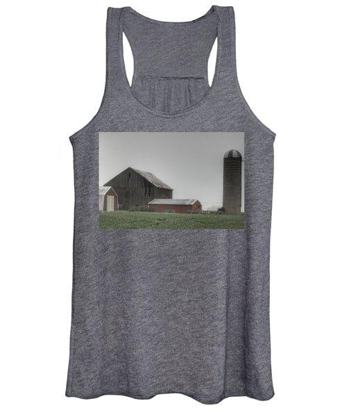 0011 - Farm In The Fog II Women's Tank Top