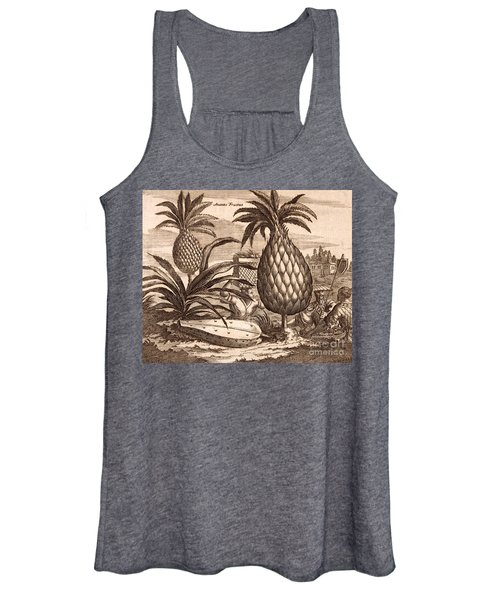 Farming Large Pineapples Women's Tank Top