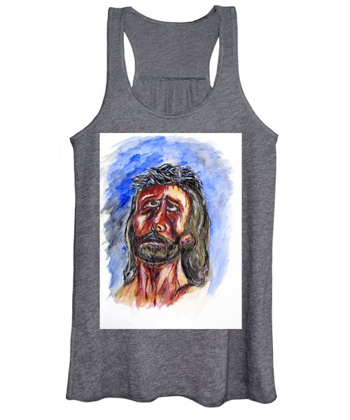 Father Forgive Them Women's Tank Top