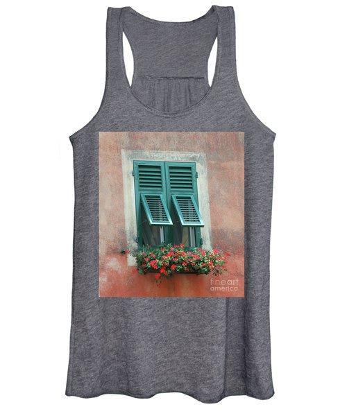 Faux  Painting Window  Women's Tank Top