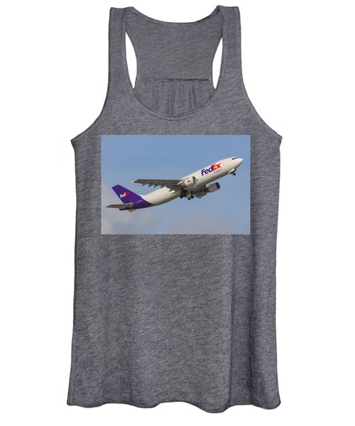 Fedex Airplane Women's Tank Top