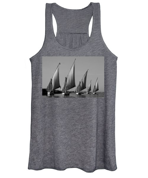 Feluccas On River Nile Women's Tank Top