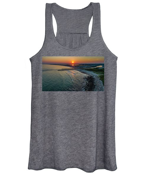 Fenway Beach Sunset Women's Tank Top