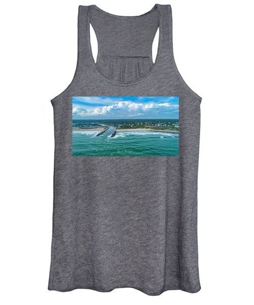 Fenway Beach, Weekapaug,ri Women's Tank Top