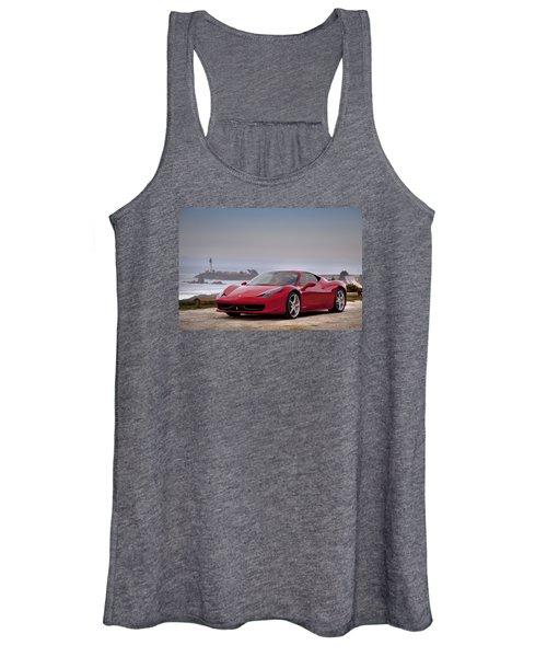 Ferrari 458 Italia Women's Tank Top
