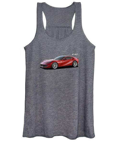 Ferrari F12 Women's Tank Top
