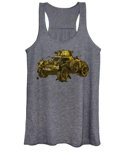 Ferret Scout Car Women's Tank Top