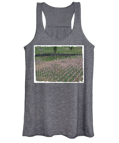 Field Of Flags - Gotg Arial Women's Tank Top