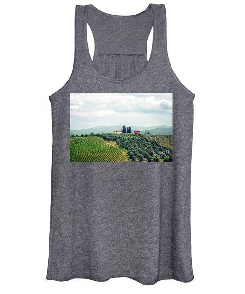 Fields Of Heavenly Delights Women's Tank Top