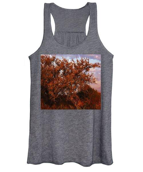 Fiery Elm Tree  Women's Tank Top