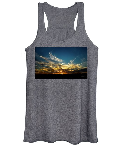 Fiery Sunset Women's Tank Top