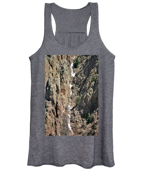 Final Traces Of Snow Women's Tank Top