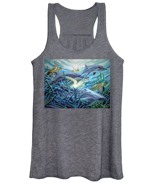 Fins And Flippers Women's Tank Top