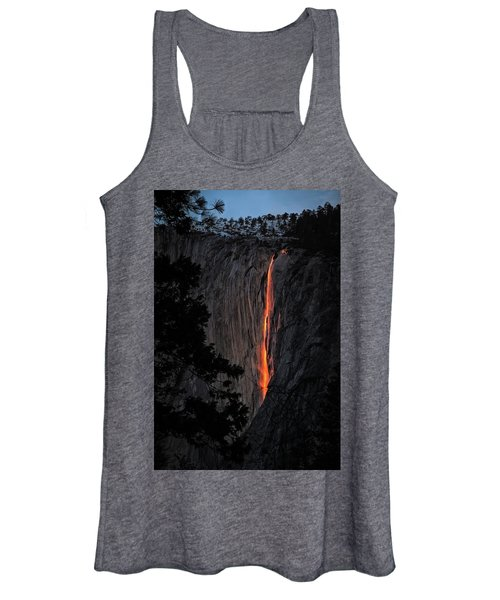 Fire Fall Women's Tank Top