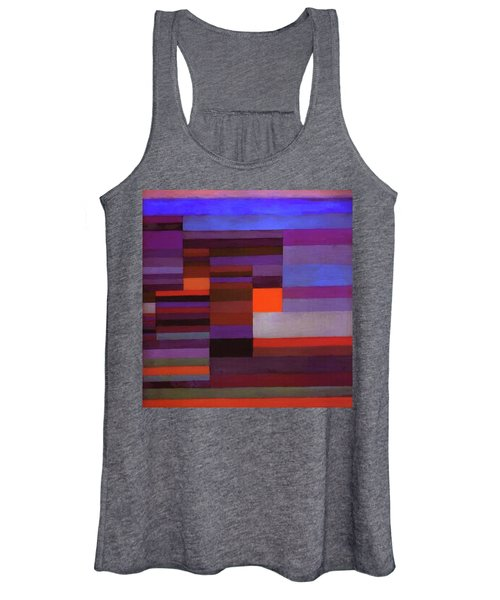 Fire In The Evening Women's Tank Top