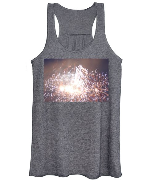 Fireworks In The Park 6 Women's Tank Top