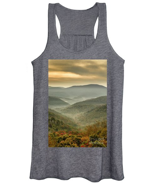 First Day Of Fall Highlands Women's Tank Top