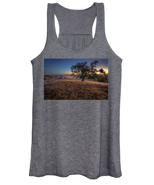 First Light On The  Canyon Ranch Women's Tank Top