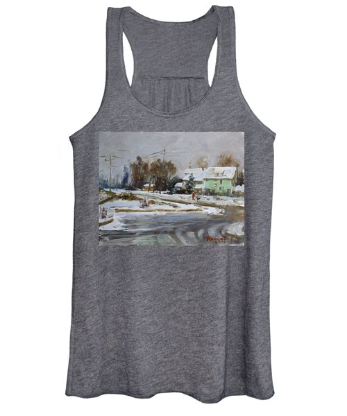 First Snow For This Winter Women's Tank Top