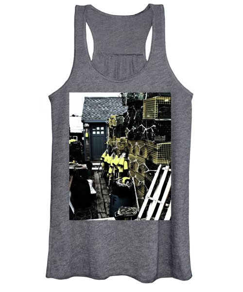 Women's Tank Top featuring the photograph Fisherman's Shack by John Feiser