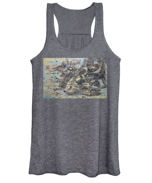 Fishes. Monotype Women's Tank Top