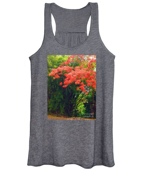 Flamboyant With Bamboo Women's Tank Top