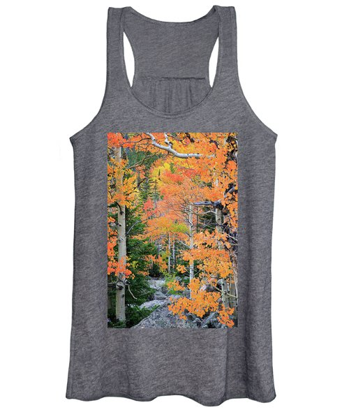 Flaming Forest Women's Tank Top
