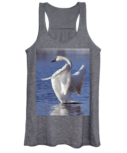 Flapping Swan Women's Tank Top