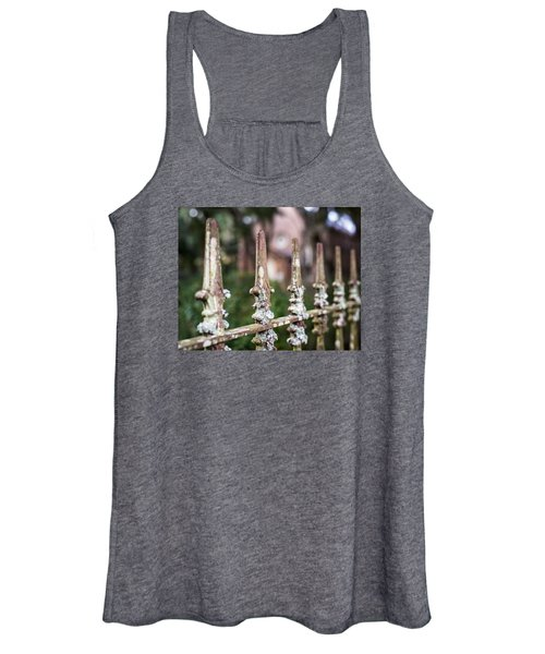 Fleur De Lis Finial Women's Tank Top