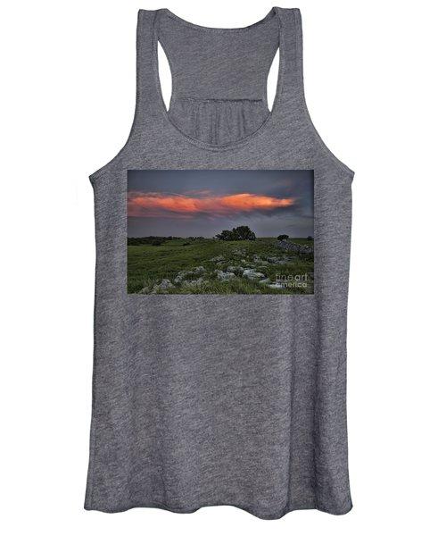 Flinthills Sunset Women's Tank Top