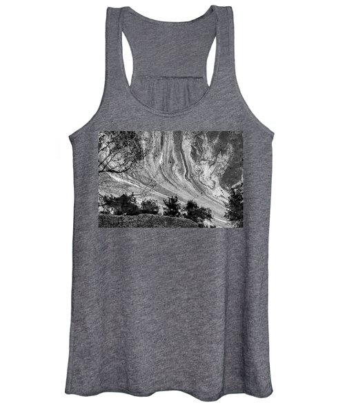 Floating Oil Spill On Water Women's Tank Top