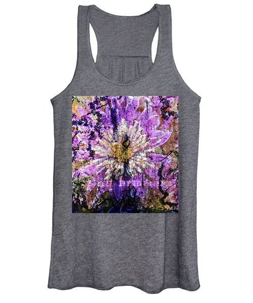 Floral Poetry Of Time Women's Tank Top