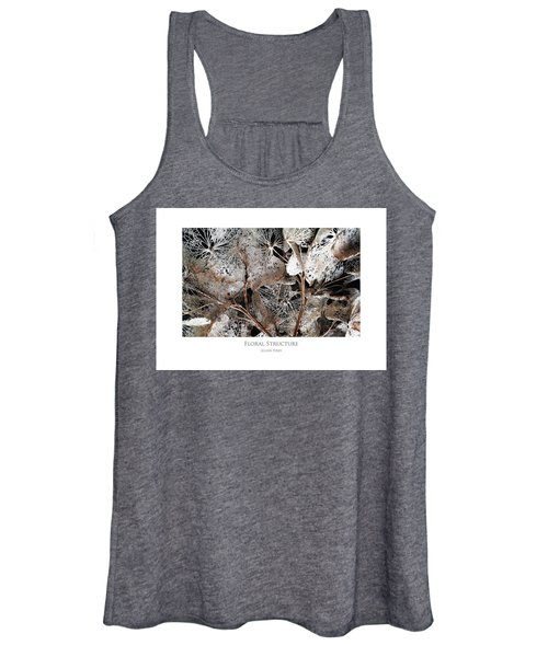 Floral Structure Women's Tank Top