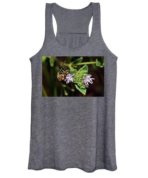 Flower Scarab - Trigonopeltastes Delta Women's Tank Top