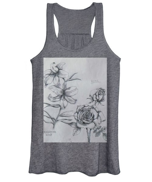 Flower Study 1 Women's Tank Top