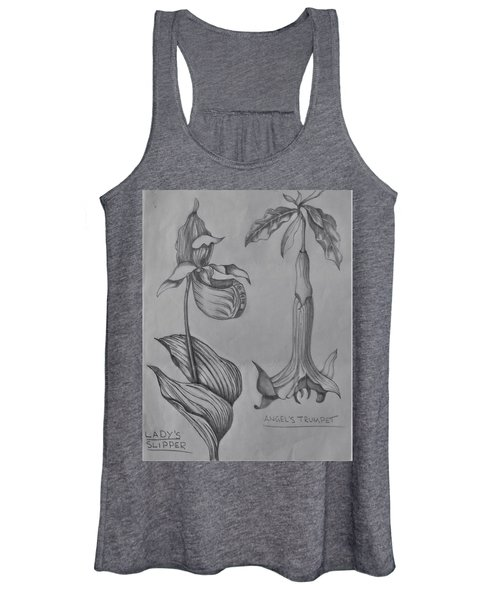 Flower Study 3 Women's Tank Top