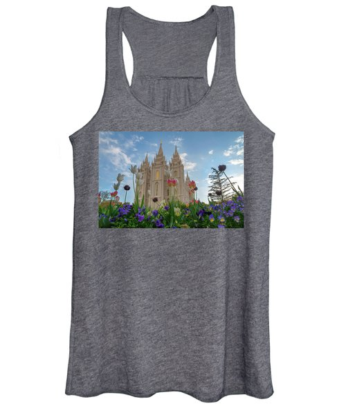 Flowers At Temple Square Women's Tank Top
