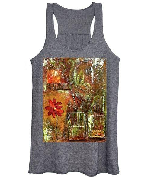 Flowers Grow Anywhere Women's Tank Top