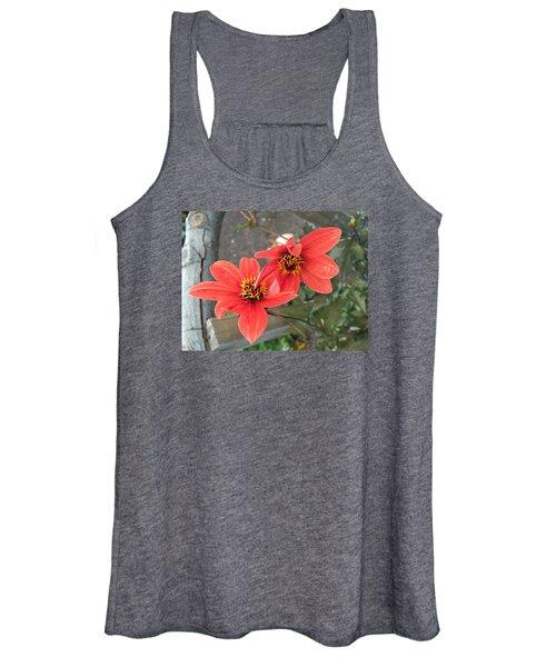 Flowers In Love Women's Tank Top