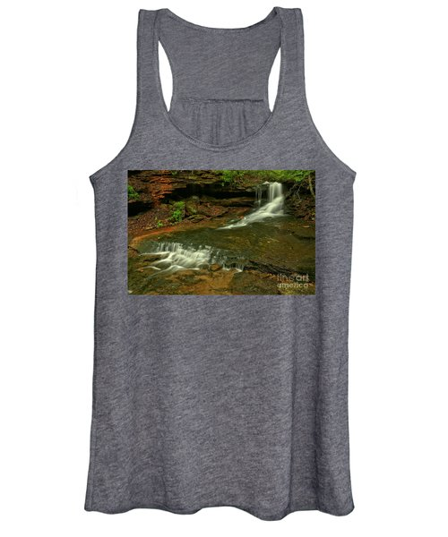 Flowing Through The Forbes State Forest Women's Tank Top